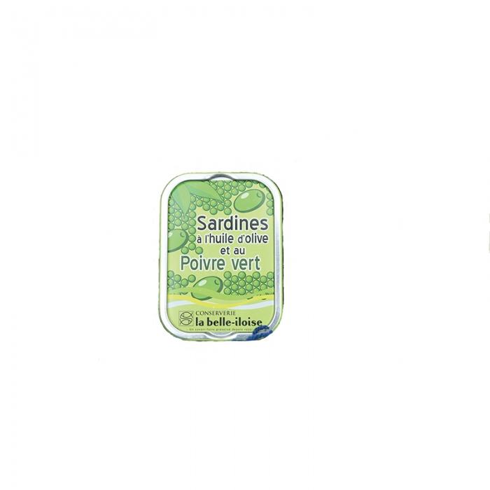 Sardine Bretoni al pepe verde