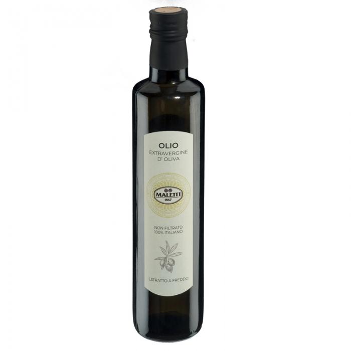 Olio extravergine d'oliva estratto a crudo