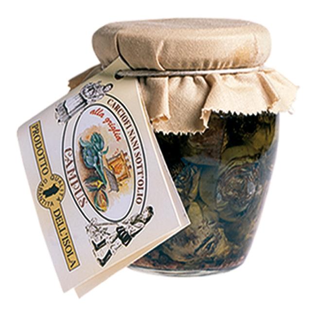 Confezioni regalo con carciofini nani sardi