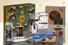 Confezioni regalo con prodotti enogastronomici
