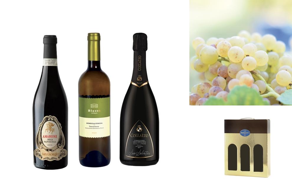 strenna di natale per aziende con vino