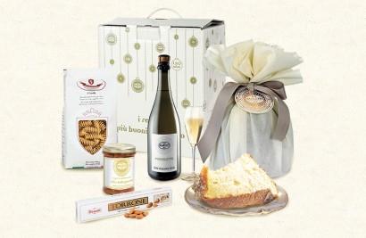 confezione alimentare natalizia auguri maletti store online