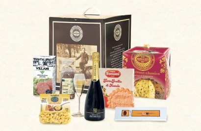 confezione alimentare natalizia buon natale maletti store online