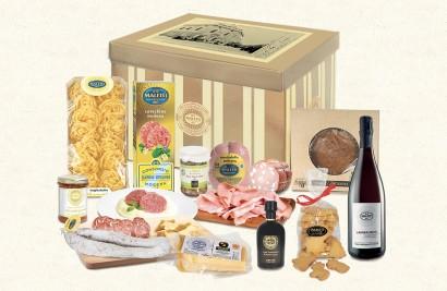 confezione alimentare natalizia terre emiliane maletti store online