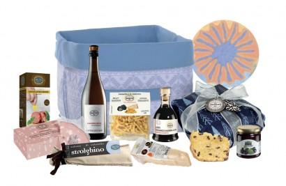 cesta regalo natalizia per gli amanti dell'Emilia